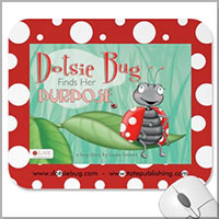 Dotsie Bug Cover Mousepad